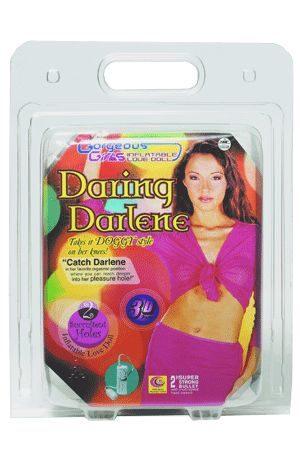 Bambola Gonfiabile Daring Darlene Vibrante