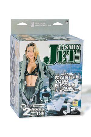 Bambola Gonfiabile Aviere Jasmin Jet Vibrante